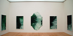 Untitled (green paintings)