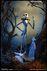 King of Halloween (EdwardLee's collection) Tags: halloween pumpkin skeleton jack toy toys king collection timburton nightmarebeforechristmas skellington nbx edwardlees