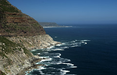 Capetown's rocky coast (bdinphoenix) Tags: ocean africa mountain water southafrica coast nikon surf d2x rocky capetown atlantic barrywilliamsphotography