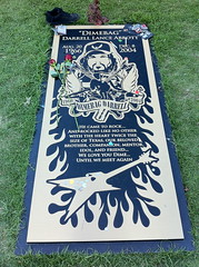 Dime's Gravesite (J D Jones) Tags: arlington texas royal dime crown dimebag seagrams pantera blacklabelsociety zakkwylde 2cents grandprairie blacktoothgrin