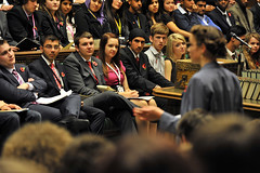 The UK Youth Parliament listen to speeches - image from the UK Parliament photostream