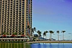 Rainbow Tower at Hilton (jcc55883) Tags: hawaii nikon waikiki oahu hiltonhawaiianvillage rainbowtower hiltonlagoon nikond40