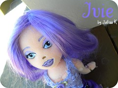She is... (j u l i ) Tags: girls house flower home make up purple ty picnik ivie