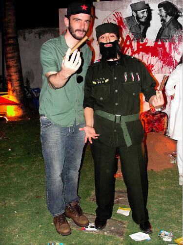 Arthur Honorio e Pedro Javier Yugar - Halloween do Varanda's 06/11/10