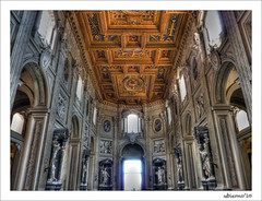 Basilica di San Giovanni in Laterano (Ubierno) Tags: italy rome roma europa europe italia baroque barroco laterano borromini lateran sangiovanniinlaterano sanjuandeletrán letrán basilicaofstjohnlateran ubierno hdraward mygearandmepremium mygearandmebronze