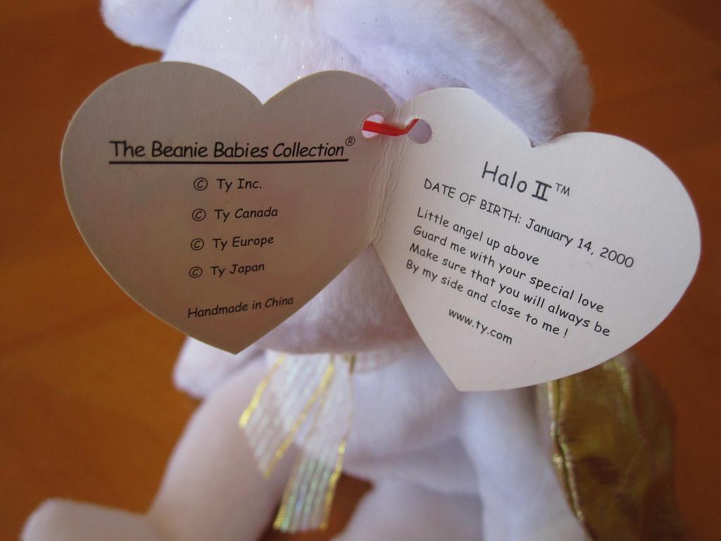 Ty Halo II Beanie Baby Hang Tag (jessicagreen0202) Tags  baby babies  buddies buddy 53f98f026c62