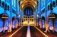 The Riverside Church, New York City (mudpig) Tags: nyc newyorkcity newyork church glass geotagged manhattan balcony iglesia stained altar nave riversidechurch hdr interfaith nondenominational mudpig interdenominational stevekelley theriversidechurch