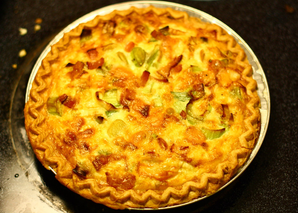 Quiche Lorraine with a Twist