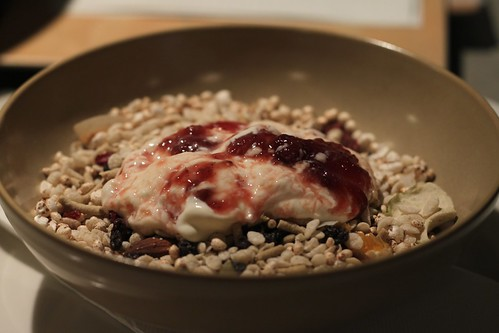 rice and buckwheat muesli