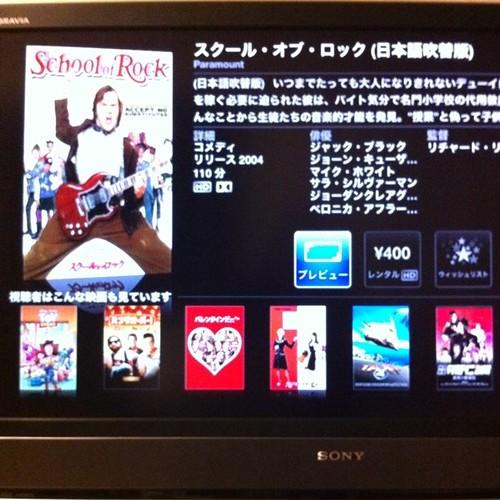 Apple TV: Screen