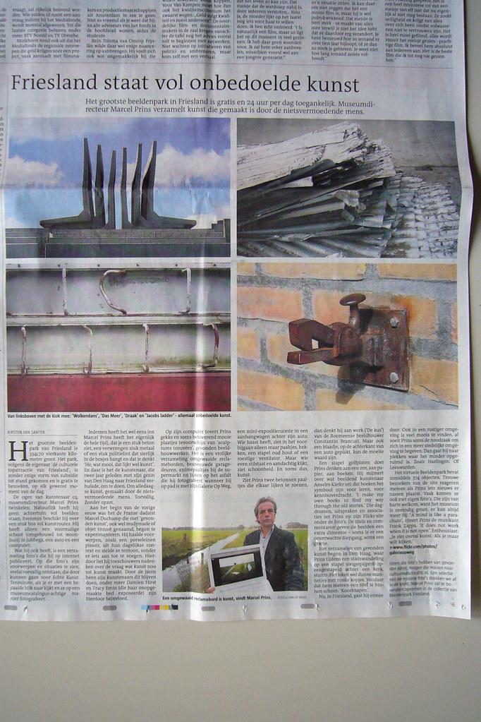 Leeuwarder Courant, 13 november 2010