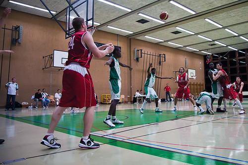CPE Etoile Sportive Vernier Meyrin - Swiss Central Basket (13.11.2010)