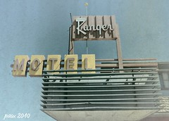 Road Ranger (pam's pics-) Tags: hotel lodging motel textures wyoming motorinn wy motorlodge laramiewyoming pammorris rangermotel nikond5000 denverpam july4roadtrip