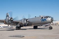 B-29 Superfortress (SBGrad) Tags: nikon boeing nikkor bomber fifi klgb 2010 b29 superfortress d90 3570mmf28d wrightr3350