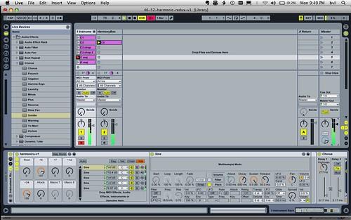 46/52: Ableton Live - Harmonic Study Redux