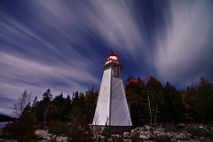 K7__4038 (Bob West) Tags: longexposure nightphotography lighthouse ontario night clouds georgianbay greatlakes fullmoon moonlight nightshots brucepeninsula tobermory startrails k7 southwestontario bobwest pentax1224