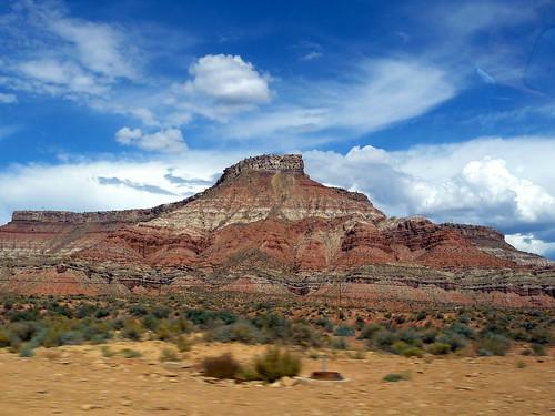 Sur la route entre Las Vegas et Zion