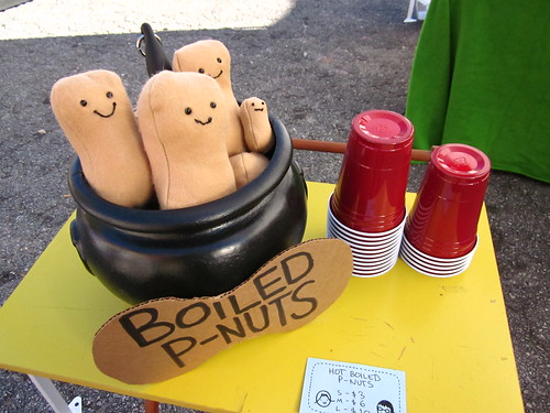 Hot Boiled Peanuts plush that I made.