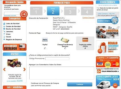 Comprar lotes, cestas y regalos de navidad online