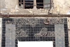 Hotel Lincoln (Julia Manzerova) Tags: abandoned sign tile neglected morocco casablanca derelict deserted fallingapart deteriorating inruins hotellincoln