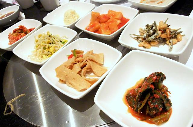 Assorted Korean Appetizers