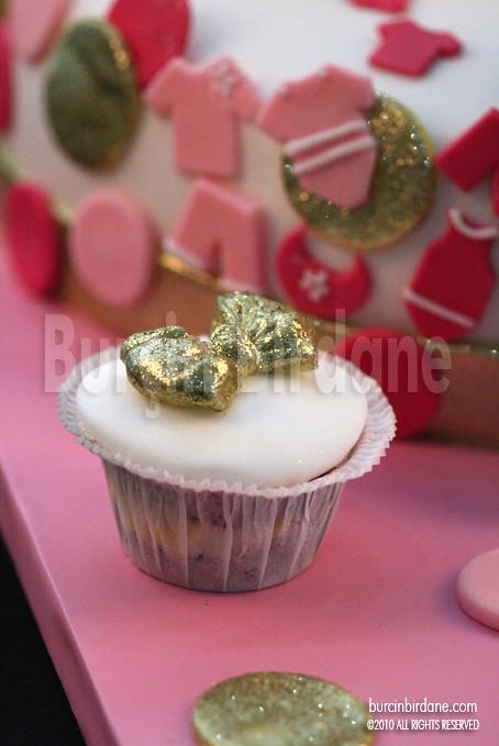 Baby Shower Pasta Cupcake