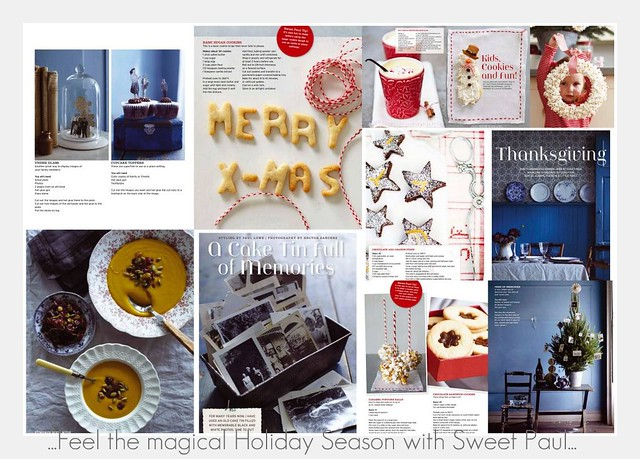 Back to Life... with the magical Holiday issue by Sweet Paul...