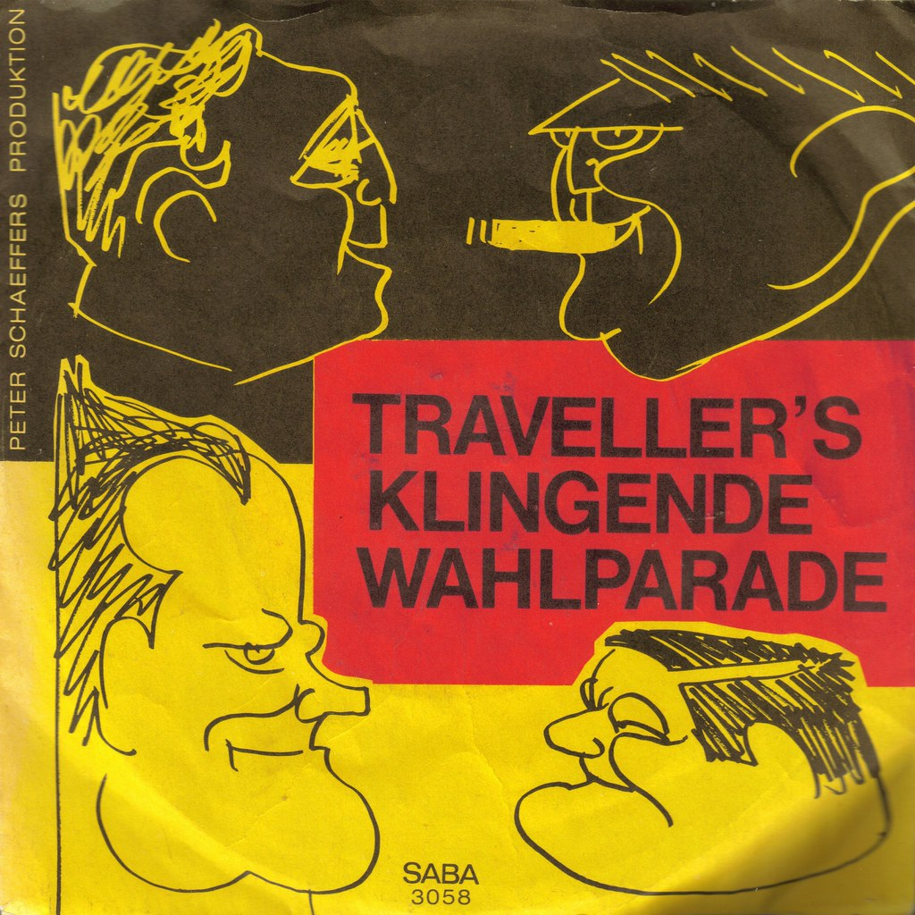 Die Traveller's Klengende Wahlparade front cover