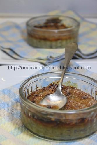 Crème brulée di carciofi