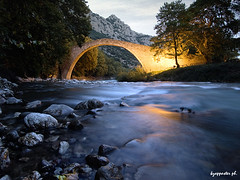 Porta (kzappaster) Tags: bridge river olympus greece porta ft e3 zuiko 43 stonebridge zd pyli trikala 1122mm thessaly mywinners platinumheartaward daarklands blinksuperstars