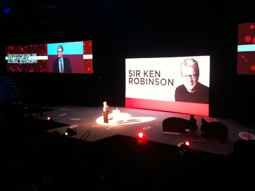 Sir Ken Robinson at the Creativity World Forum