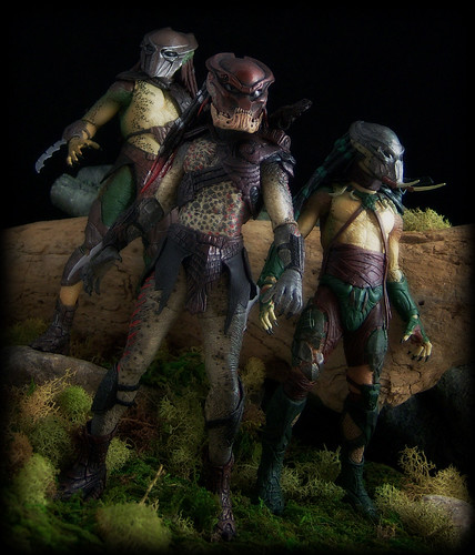 NECA Predators - Berserker, Falconer and Tracker