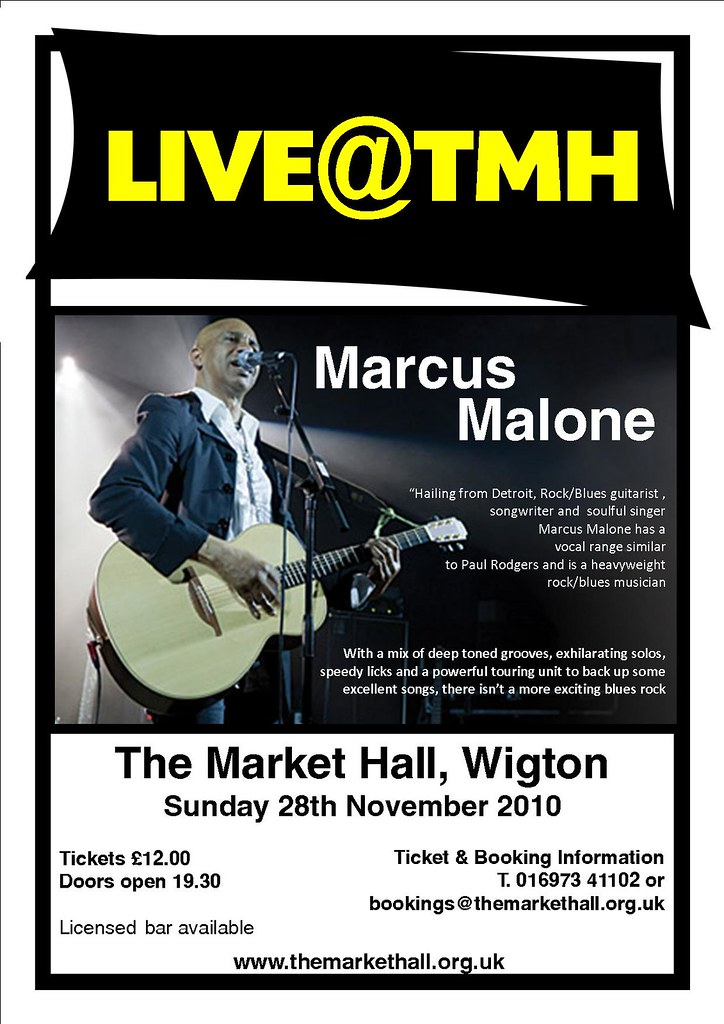 marcus malone poster
