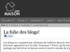 La folie des blogs