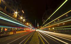Princes Street Light Trails