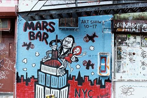 Mars Bar Facade