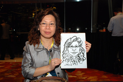 caricature live sketching for 2010 Asia Pacific Tax Symposium and Transfer Pricing Forum (Ernst & Young) - 3