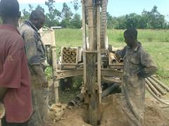 Bumang'ale Nursery well-no more penetration of the drilling rods due the fallen stone in the hole