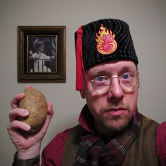 Fez-o-rama Friday! ...And a potato.