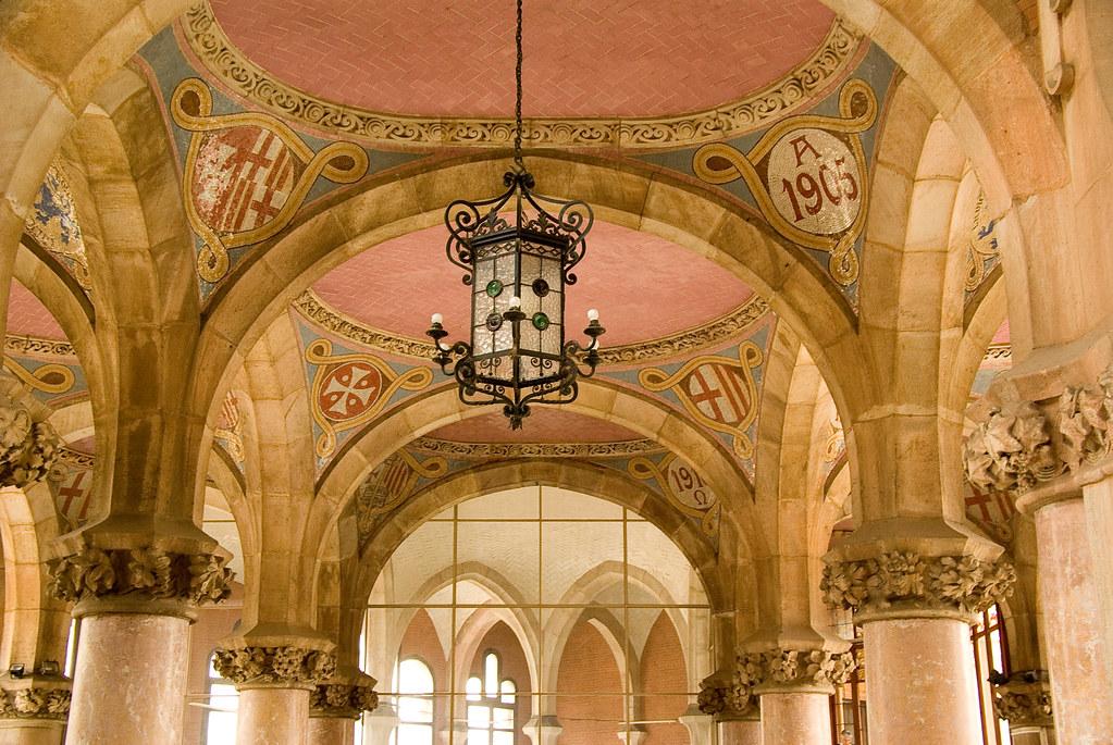 Hospital De Sant Pau (Floortje Walraven) Tags: Barcelona Spain Interior  Interieur Hopital Ziekenhuis