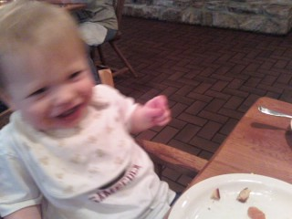 101030 Coleman at Cracker Barrel