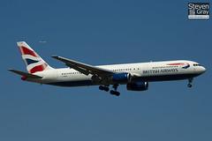 G-BNWD - 24336 - British Airways - Boeing 767-336ER - Heathrow - 100617 - Steven Gray - IMG_4573