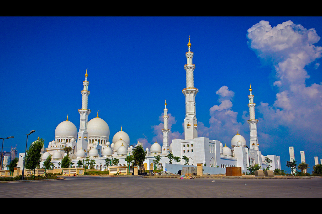 The Sheikh Zayed Mosque