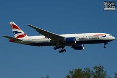 G-YMMU - 36519 - British Airways - Boeing 777-236ER - Heathrow - 100617 - Steven Gray - IMG_3998