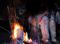 Native American Campfire