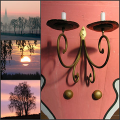 PINK (:Linda:) Tags: pink color collage germany candle kerze thuringia candlelight