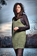Samantha Fox (Bushido Photo) Tags: sunset portrait sexy fashion outdoors newjersey model woods nikon outdoor nj environmental onelight alienbees woodedarea b800 strobist d700 smithvillepark lightenupandshoot bushidophoto