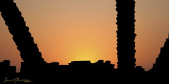 SunSet (  || saud alageel) Tags: sunset sun canon 500 saud 500d    alageel