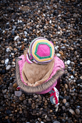 Hat and Pebbles
