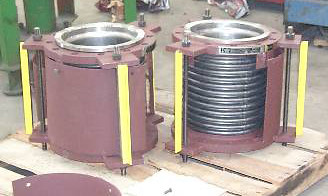 "10"" Single Tied Titanium Expansion Joints"
